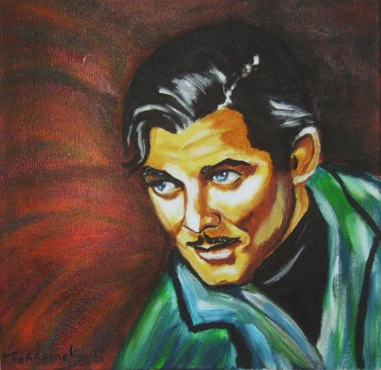 Clark Gable by Tekkamaki